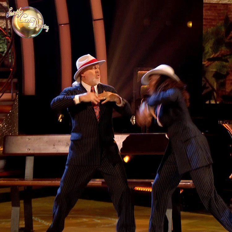 Hands up if you've been trying to master this move since Week Four. 👀 #StrictlyFinal