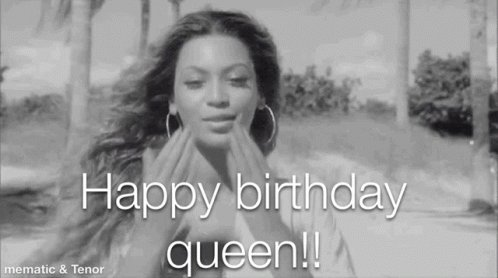 Happy birthday Alyssa.