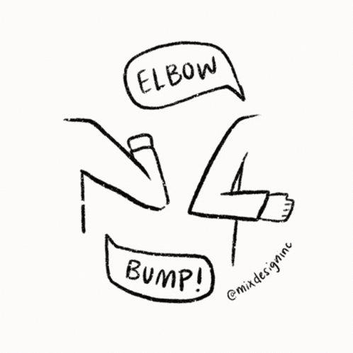 Elbow Bump Yeah GIF