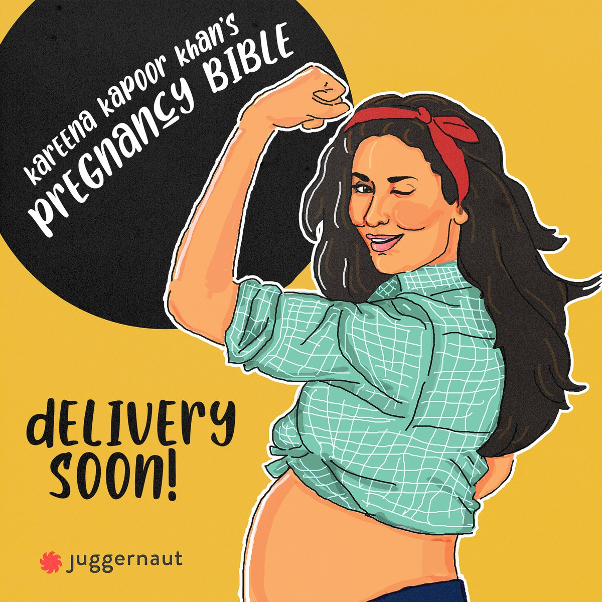 We're thrilled to announce that we will be publishing Kareena Kapoor Khan's Pregnancy Bible!   In the book, she'll talk about everything from morning sickness to diet and fitness and being a mom-on-the-go!  We can't wait for you to read it!