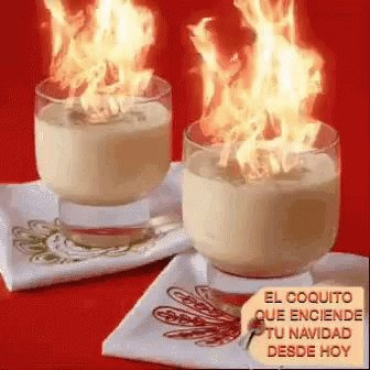 Today is National Coquito Day! I didn't even realize and was sipping some around midnight... lemme pour some more today! #NationalCoquitoDay
