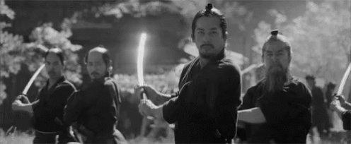 The Last Samurai Training GIF