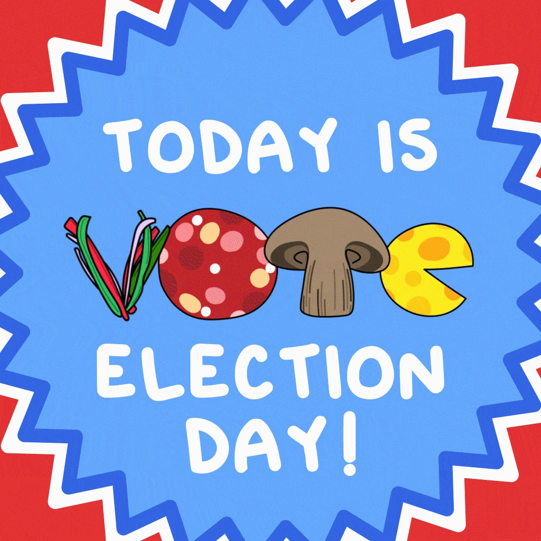 Today is the day, Georgia!  We'll be at the polls with pizza and food trucks! If you spot a long line, holler at us and we'll be right over!  #GeorgiaRunoffs