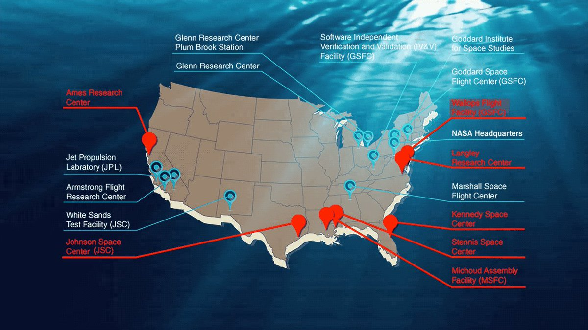 As sea levels rise, many @NASA facilities are feeling the effects. On this #SeeingTheSeas Sunday, read about how NASA launch and research sites -- 2/3 of which are within 16 feet of the coast -- are preparing for rising seas.