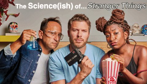 Please will everyone - yes, EVERYONE - watch 'The Science(ish) of... Stranger Things' on @BBCiPlayer @bbcthree.    It's got human lab rats and mind control and freaky two-headed dogs and @DrMichaelBrooks and @sophiedukebox and what more do you want FFS