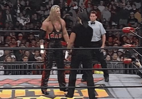 Tonight, while watching the Legends on #WWERAW,  22 years ago tonight, the climate of wrestling changed.  While WCW was giving away the results of a taped RAW this moment was the beginning of the end of the #MondayNightWars......
