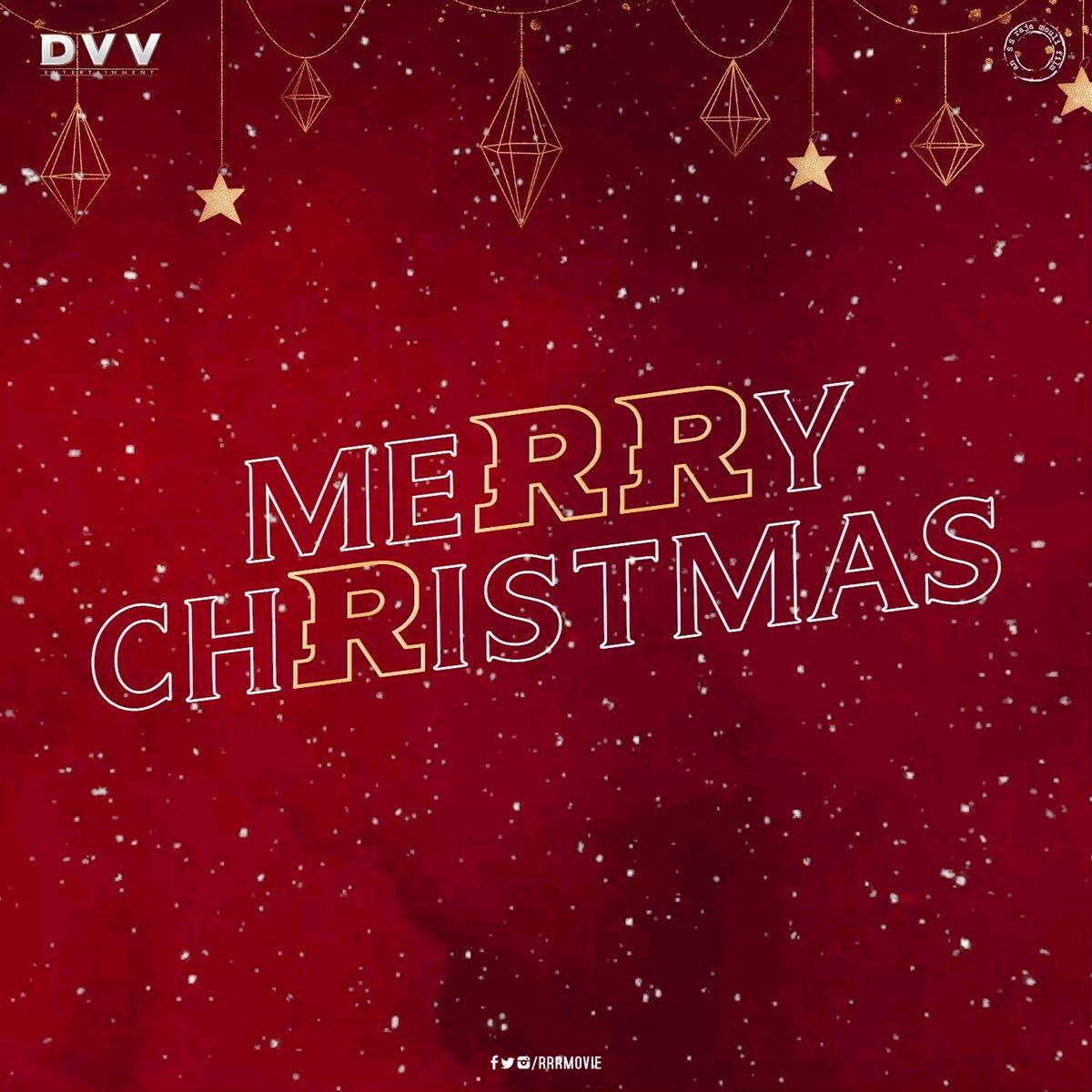 #MerryChristmas Everyone !!! #RRR #RRRMovie