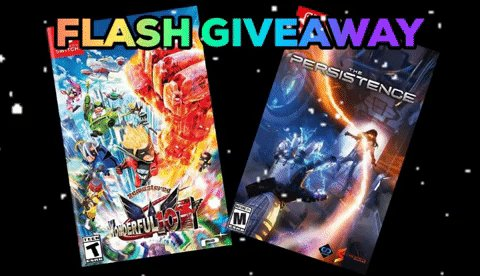Flash Holiday Giveaway: Follow & Retweet for a Chance to Win Physical Copies of The Persistence (Switch) & The Wonderful 101 Remastered (Switch) by @NH_Interactive, @platinumgames & @PlayPersistence. USA Only. Ends in 60 MINUTES.