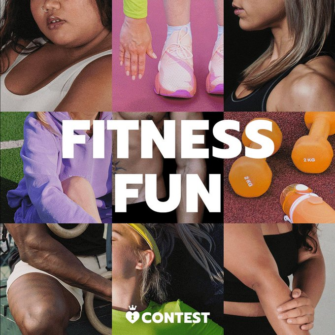 Re-MV if you're into fitness! 🥊  Our Fitness Fun Contest is the best way to show us your post-holiday