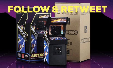 Follow CAG & Retweet for a Chance to Win a Limited Edition Asteroids x RepliCade by @NewWaveToys. Ends Jan. 8th at 9PM ET. USA Only.
