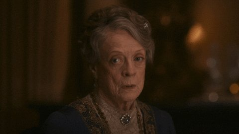 Here We Go Violet Crawley GIF by Downton Abbey