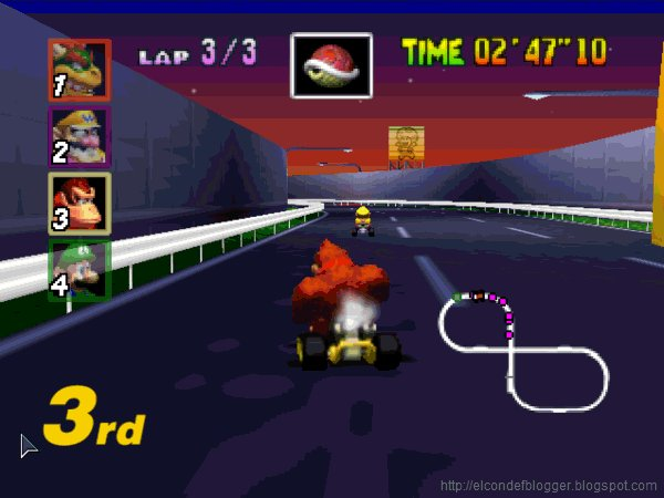 Do other Mario kart 64 players stress out the most on Toads Turnpike or is it just me? https://t.co/