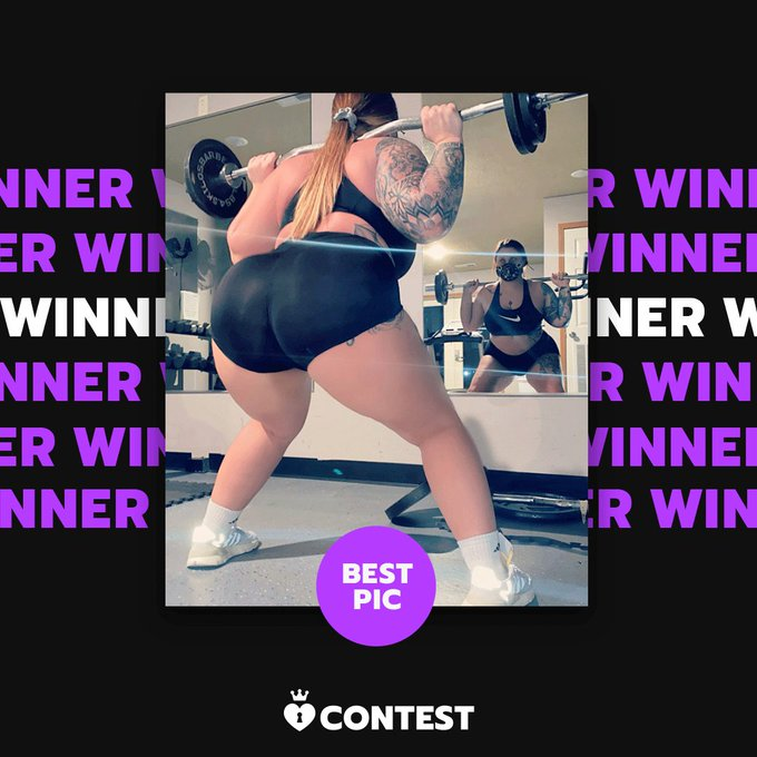 Congratulations to our Fitness Fun Contest Best Pic & $50 prize winner ChandlerKnightX! 🥊   Your pic