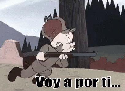 Elmer Gruñón Está Acechando...