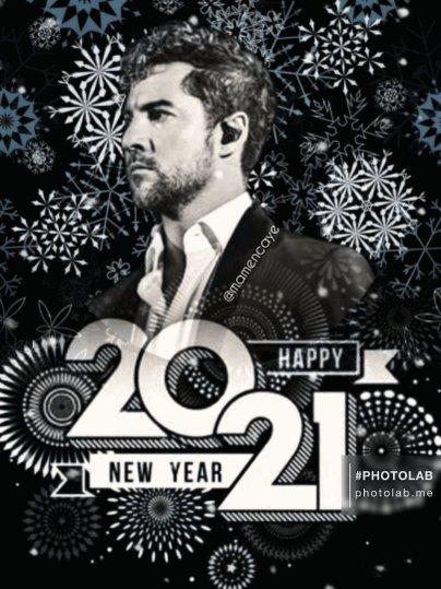 @davidbisbal Feliz 2021!!