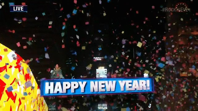 In case no one has told you today... Happy New Year! #RockinEve