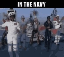 In The Navy Village People GIF