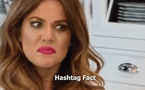 Hashtag Fact GIF