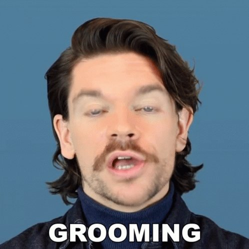 Grooming Robin James GIF