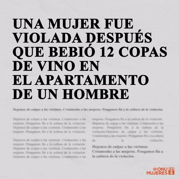 📰Cambiemos la narrativa que culpa a las víctimas y pongamos el poder de las palabras al servicio de las sobrevivientes, no de los agresores. #pintaelmundodenaranja #16Días vía  @ONUMujeres
