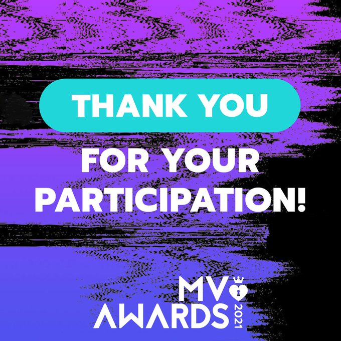 Voting for the #MVAwards2021 is officially closed! ✨  Thank you to everyone who participated, voted &