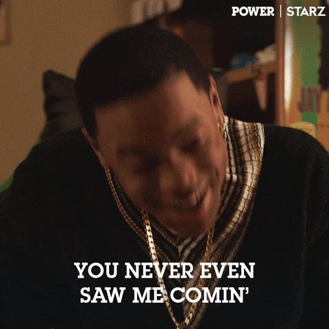 So, I just watched Ghost die for like the 4th or 5th time now. It still stings and pisses me off just as much as the 1st time I watched it. Fk'n Tariq man, lil bastard😡😡 #PowerTV  #PowerGhost  #PowerBook2