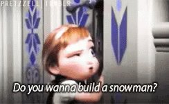 Ball Arena is now playing 'Do You Want To Build a Snowman' from Frozen.