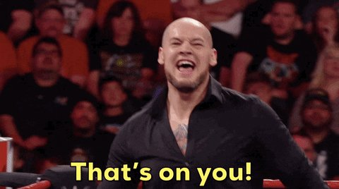 Dom: I'm not going to cost my dad the match. *Goes on to cost his dad the match* #SmackDown