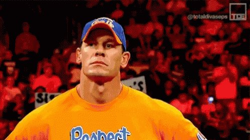Cena is gonna sue Mysterio for telling his son to never give up.   (That's mine) #Smackdown