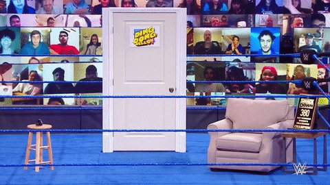 What a absolutely Boring Dr. @RealBrittBaker Waiting room Boooooooo come on Vince this could've been better 😒#Smackdown