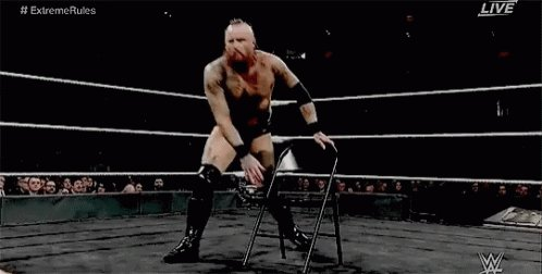 This is exactly how I sit on the toilet 10 mins after a meal  #SmackDownOnFox #SmackdownLive #SDLive #Smackdown #WWEThunderDome