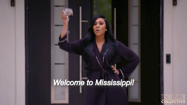Welcome to Mississippi! The #BelleCollective series premiere starts right now!