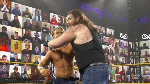 Replying to @WWENXT: Teamwork makes the dream work!  #205Live #DustyClassic #KillianDain @WWEMaverick