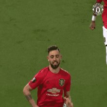 """Bruno Fernandes on @manutd against Liverpool.  """"For fans, going to talk to friends who may be Liverpool fans it'll be much better if they're the winner rather than the loser. And it would be a lot more fun with 21 titles and Liverpool still on 19""""  #mufc"""