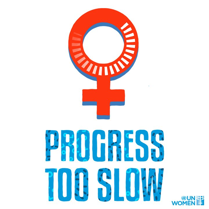 We've come a long way for gender equality.  Yet, progress has been too slow.  It's on all of us to keep the pressure on our leaders to realize women's rights. #GenerationEquality