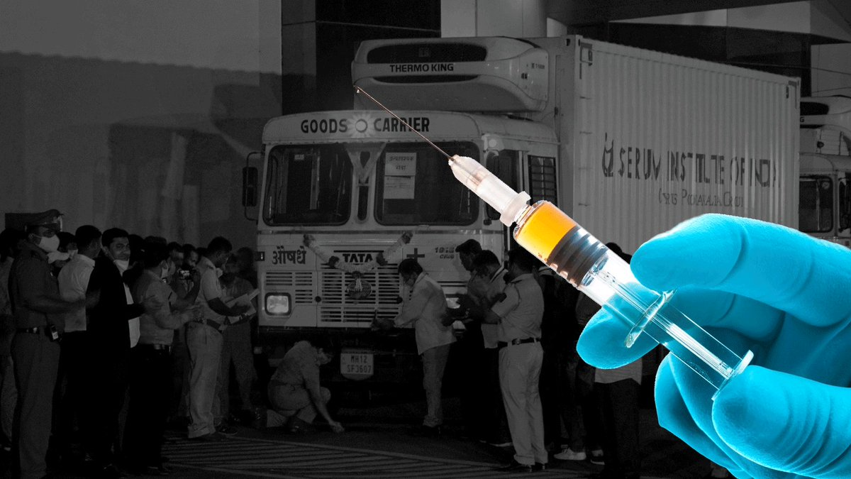 How India plans to execute its mega #COVID19 vaccination drive  Read: