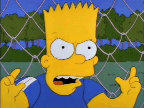 """""""I stopped it."""" """"And I hurt somebody. Ha Ha""""   #football #soccer #Simpsons"""