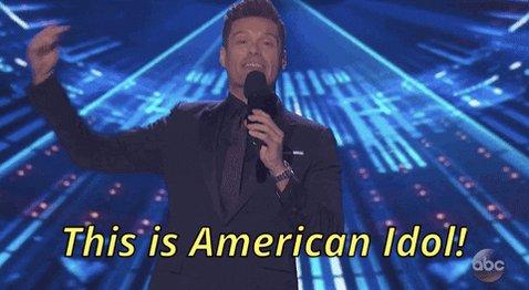 This… is #AmericanIdol… on American Top 40! #RandyJackson & #Paula Abdul join Ryan for a mini Idol reunion!