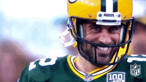 We're into bonus territory of the greatest show on television - The Aaron Rodgers Fuck You Tour. Let's ride. #GoPackGo