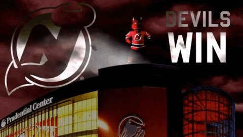 Yes this tweet is late, took a nap. DEVILS WIN #NJDevils