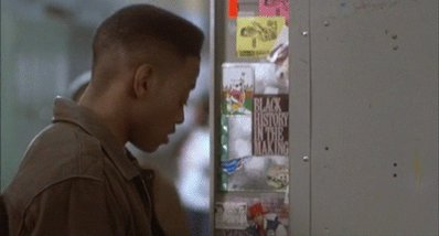 Lamar Jackson when he sees the Ravens' center in the locker room