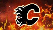 Going into the 2nd period 1-0 !! #goflames #goflamesgo @NHLFlames #calgaryflames #HockeyIsBack #flamesvscanucks