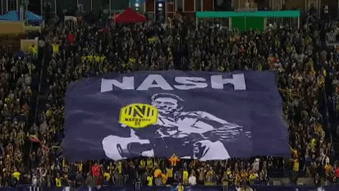 can't wait for the start of the new @MLS season , I will be proudly cheering for the @NashvilleSC BOYS IN GOLD 'till we are Champions #COYBIG ... oh and we got the best commentators too! @TonyHusband @jamiewatson77 #EveryoneN ⚡️🏆🙌🏻