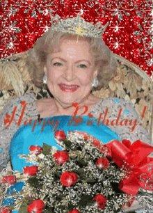 #HappyBirthdayBettyWhite #99yearsold I wanna be like you Betty!