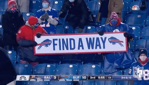 Very happy for all my #BillsMafia friends tonight!! Will always have a soft spot for @BuffaloBills, thanks to my years in #WesternNY. Great to see them back in the #AFCChampionship!! #BillsWIN #BuffaloBills #SaturdayNightFitz #FindAWay #FitzGirlsRule