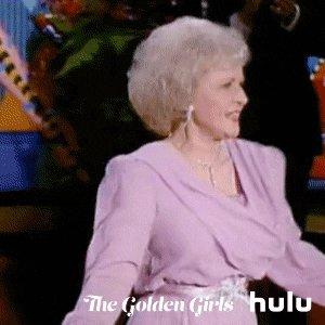 We love a golden queen  #HappyBirthdayBettyWhite