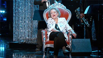 "Happy Birthday to the One and Only Betty White AKA Rose Nylund! LOVED her Netflix special, ""Betty White: First Lady of Television"" made me lol & cry. They don't make em like her anymore! ❤️ and best wishes. #HappyBirthdayBettyWhite"