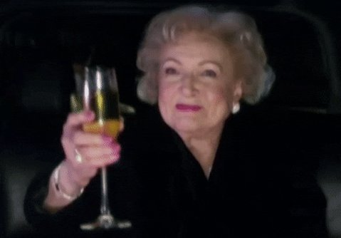 Happy 99th Betty White!!! #BettyWhite #HappyBirthdayBettyWhite #GoldenGirls
