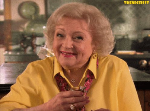 HAPPY BIRTHDAY, @BettyMWhite!!!! 🎉 Enjoy this day as you have every day of your life!! 🤗 I want to grow up to be just like you: A badass QUEEN!!!! 👑 May you have many more to celebrate... Love you!! ❤️ Cheers!! 🥂 #HappyBirthdayBettyWhite #99NeverLookedSoGood #LivingLegend