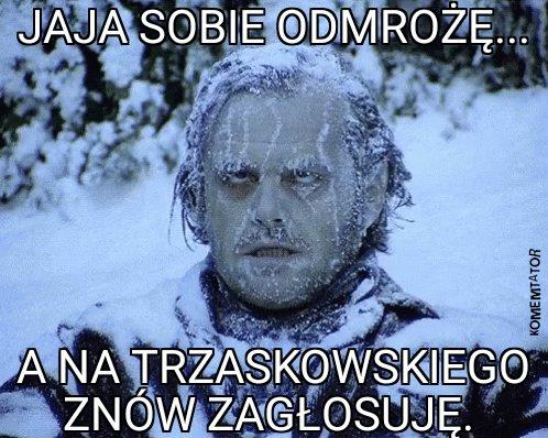 Replying to @TomasTomaszek: Warszawiacy to twardzi ludzie.  Im awarie nie straszne.  😉😁😁😁